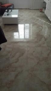 Мраморный пол  в квартире это всегда красиво!