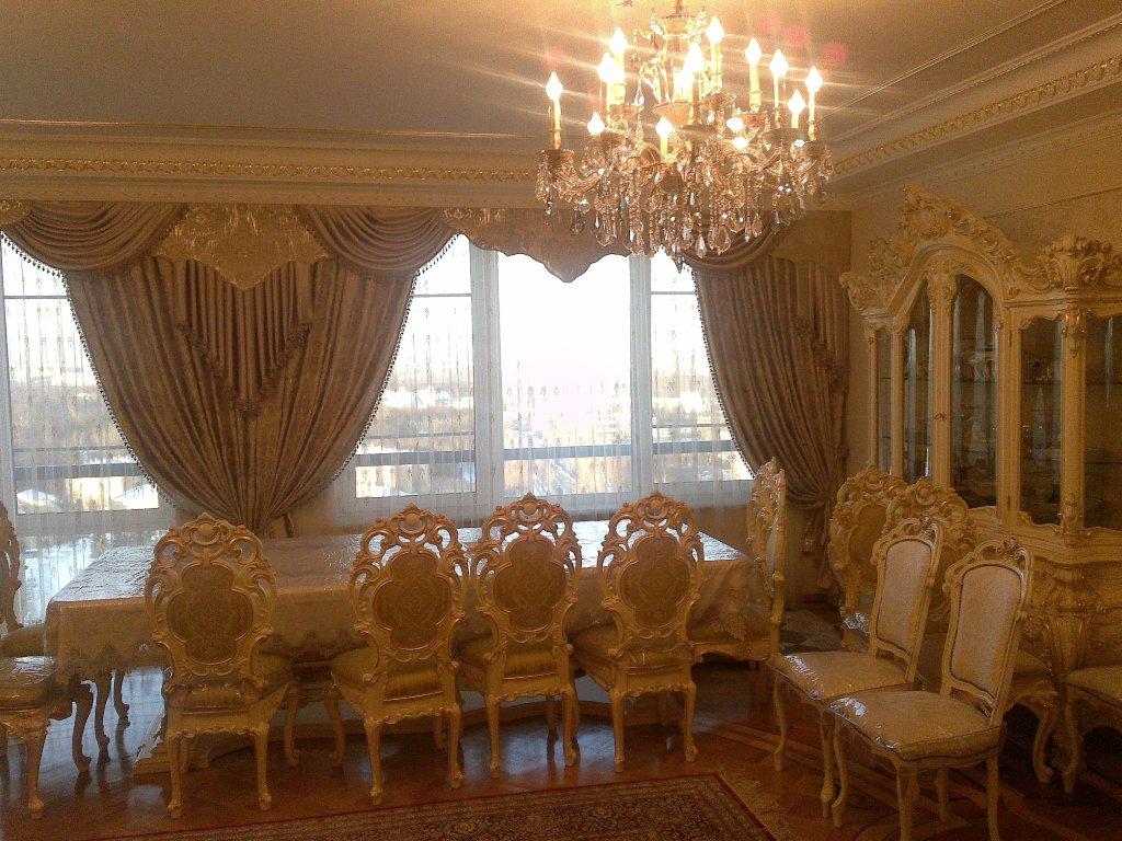 Столовая в стиле барокко
