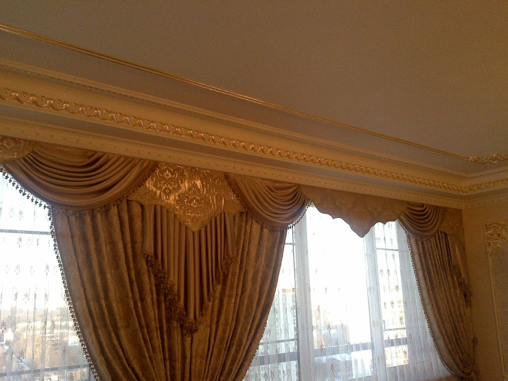 шторы для стиля барокко